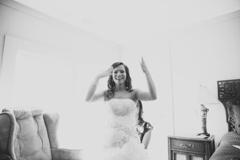 Happy Bride // MICHELLEMARIEPHOTOGRAPHY.COM