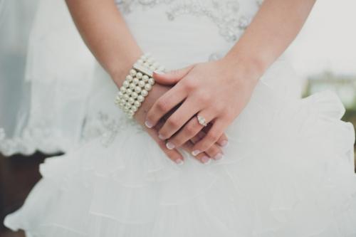 Elegant Spring Wedding // MICHELLEMARIEPHOTOGRAPHY.COM