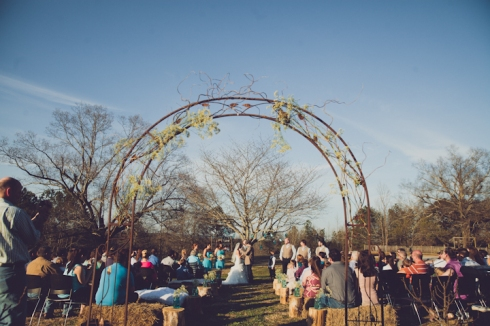 Alabama Farm Wedding // MICHELLEMARIEPHOTOGRAPHY.COM