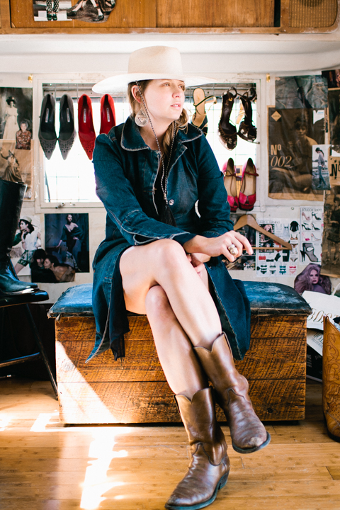 Sarah E. Lewis, founder of Bootleg Airstream // Photograph by Michelle Consuegra